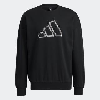アディダス スポーツウェア ロゴ スウェットシャツ