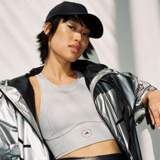 adidas by Stella McCartney シャイニー トレーニング クロップトップ