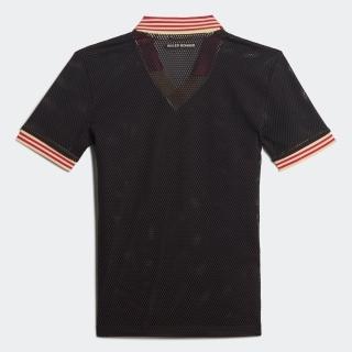 ウェールズ ボナー メッシュ ポロシャツ