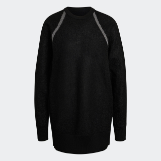 Y-3 CLASSIC SHEER KNIT CREW SWEATER