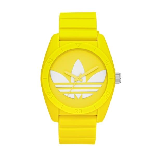アディダスオリジナルス 腕時計(ADH6174 SNTGO YEL SIL WHT)