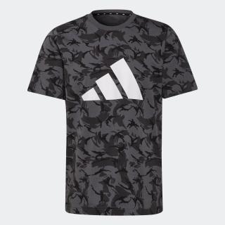 アディダス スポーツウェア フューチャー アイコンズ カモ グラフィック 半袖Tシャツ