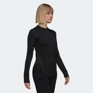 Y-3 Classic Seamless Knit Long Sleeve Tee
