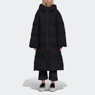 Y-3 CLASSIC PUFFY DOWN HOODED COAT