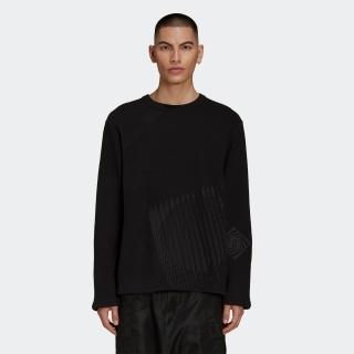 Y-3 Wooly Fleece Graphic Crew Sweatshirt