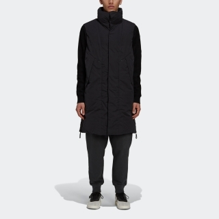Y-3 SUEDED POLY DOWN VEST