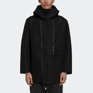 Y-3 CLASSIC DENSE WOVEN HOODED PARKA
