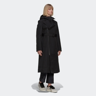 Y-3 Classic Dense Woven Hooded Trench