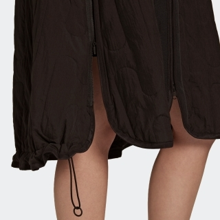Y-3 CLOUD QUILTED GILET DRESS