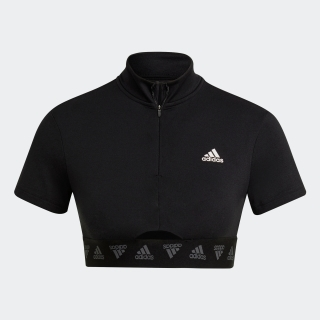 ハイパーグラム クロップ ジップTシャツ