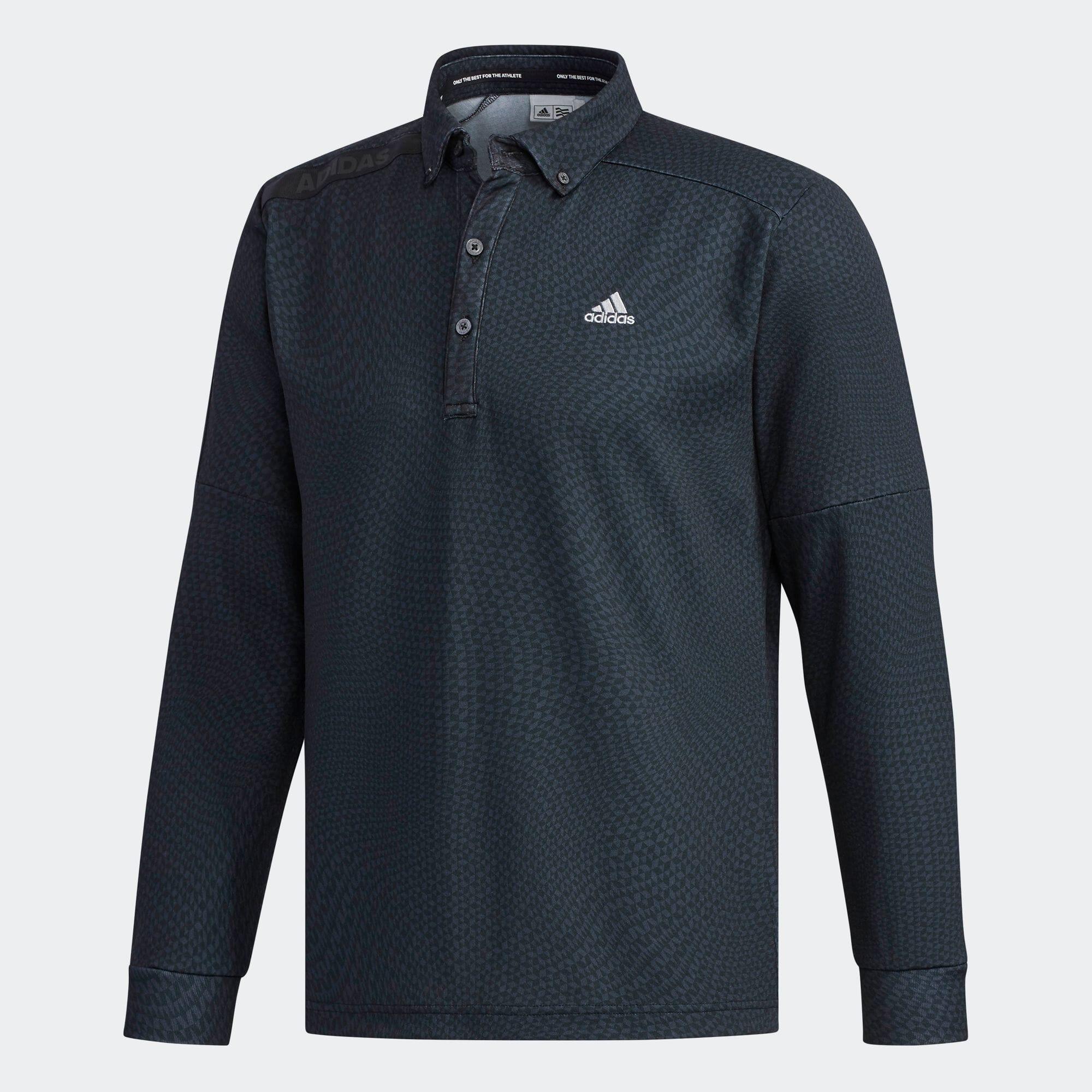 CP ジオメトリックプリント  ボタンダウンシャツ 【ゴルフ】