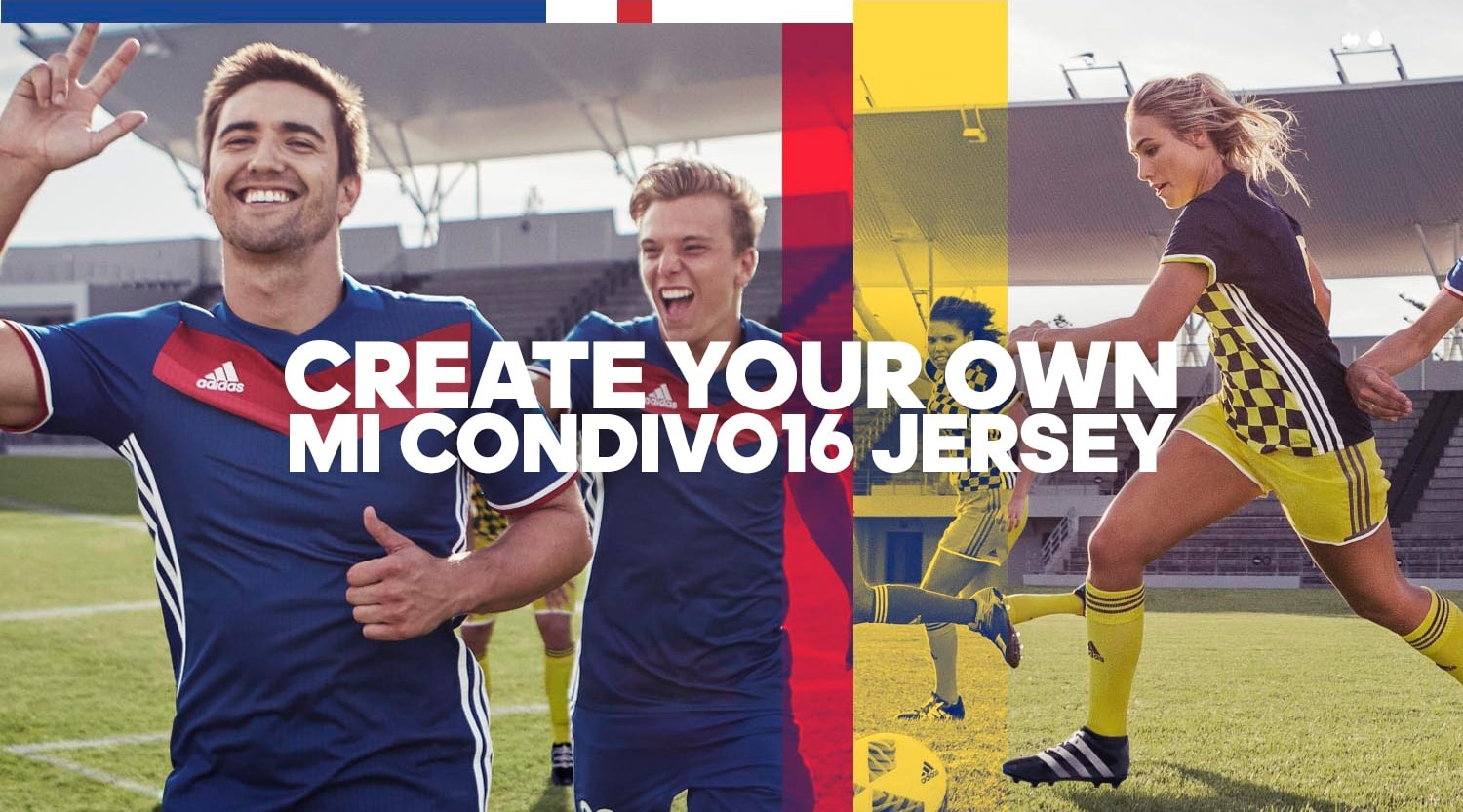 CREATE YOUR OWN MI CONDIVO16 JERSEY サッカー
